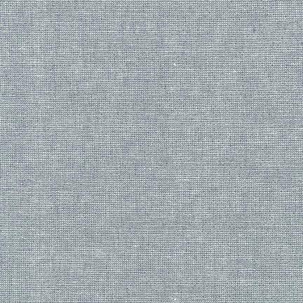 Robert Kaufman Essex Yarn Dyed Metallic Fog