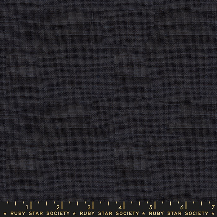 Ruby Star Society Warp Weft Wovens by Alexia Abegg for Ruby Star Society: Navy