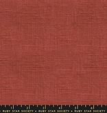 Ruby Star Society Warp Weft Wovens by Alexia Abegg for Ruby Star Society: Persimmon