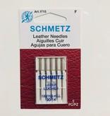Schmetz Schmetz Leather 5-pk sz14/90