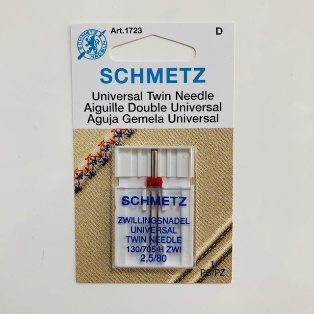 Schmetz Schmetz Universal Twin Needle 2.5/80
