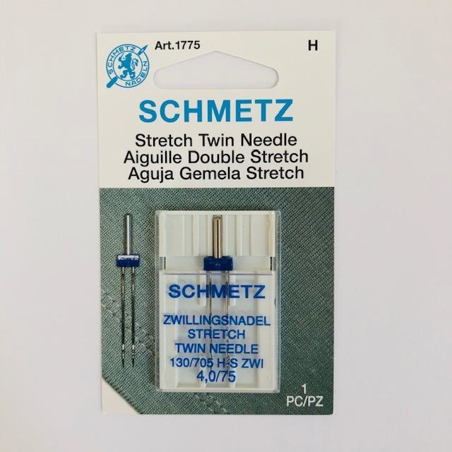 Schmetz Schmetz Stretch Twin Needle 4.0/75