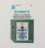 Schmetz Schmetz Stretch Twin 2.5/75