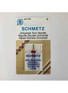 Schmetz Schmetz Universal Twin Needle 4.0/80