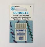 Schmetz Schmetz Double Eye 5pk sz 12/80