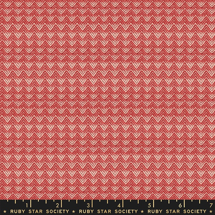 Ruby Star Society Warp Weft Wovens by Alexia Abegg for Ruby Star Society: Warm Red