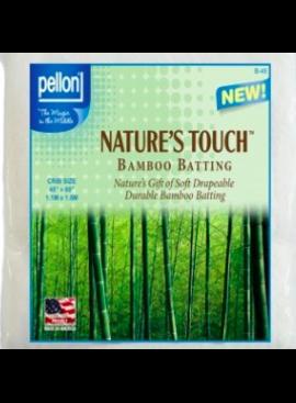 "Pellon Pellon Nature's Touch 50% Bamboo / 50% Cotton Batting Crib 45"" x 60"""