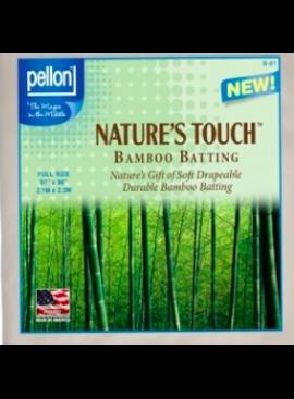 "Pellon Pellon Nature's Touch 50% Bamboo / 50% Cotton Batting Full 81"" x 96"""
