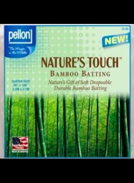 """Pellon Pellon Nature's Touch 50% Bamboo / 50% Cotton Batting Queen 90"""" x 108"""""""