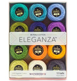 WonderFil Eleganza Pack Coral Reef Colorway Perle Cotton Size 8 12pk