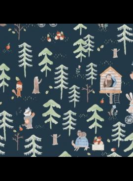 Dear Stella Treehouse by Dear Stella Picnic Midnight