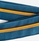 Merchant & Mills Merchant & Mills Ribbing: Colours: Blue Green / Chocolate / Gold / Yellow
