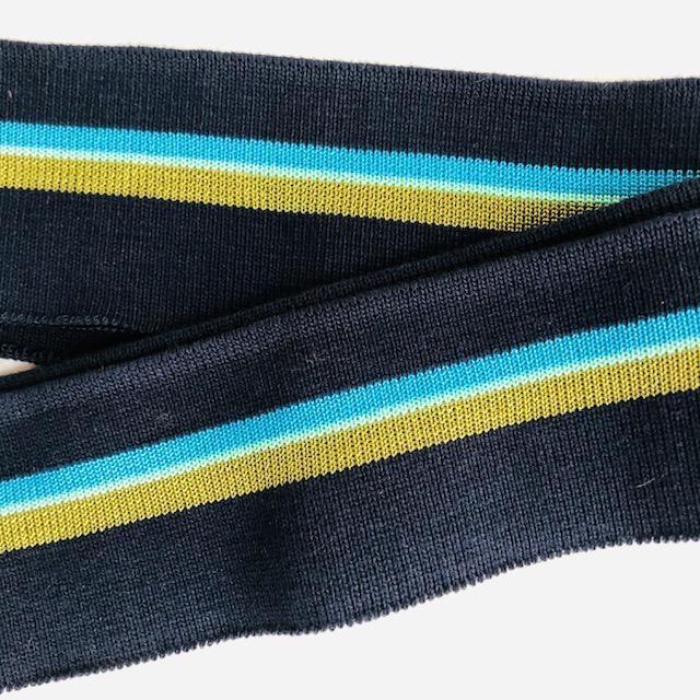 Merchant & Mills Merchant & Mills Ribbing: Colours: Navy / Turqouise / Olive Green / Pistachio Green