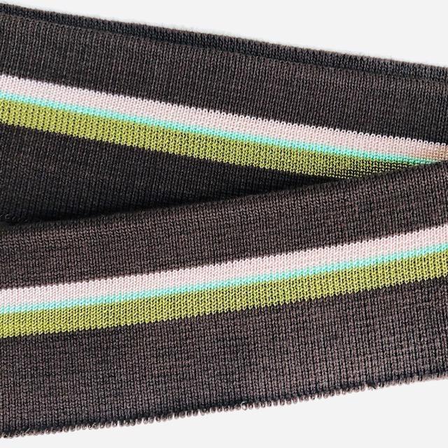 Merchant & Mills Merchant & Mills Ribbing: Colours: Chocolate / Rose / Pistachio Green / Olive Green