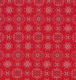 Robert Kaufman Sevenberry: Bandana Red