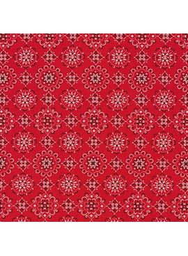 Robert Kaufman Sevenberry: Bandana Red