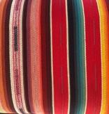Diamond Textiles World Fabrics Sarape Woven Heavyweight Red
