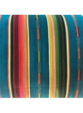 Diamond Textiles World Fabrics Sarape Woven Heavyweight Greenish / Turquoise
