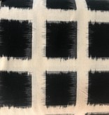 Diamond Textiles Heavyweight Ikat Black / Cream