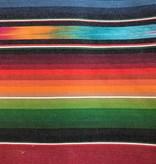 Diamond Textiles World Fabrics Sarape Woven Medium Weight Rainbow