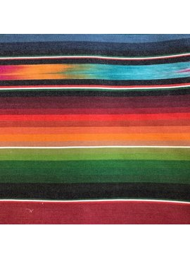 Diamond Textiles World Fabrics Sarape Woven Medium Weight Rainbow