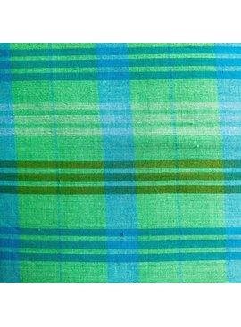 Freespirit Loominous by Anna Maria Horner Green Turquoise Plaid