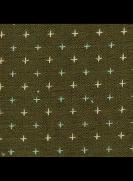 Diamond Textiles Nikko Geo Olive Pluses