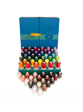 Eversewn Eversewn Embroidery Thread Box Top Color Blossom Mix 60 Spools CURBSIDE PICK-UP ONLY