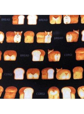 Kokka Kokka Corgi Bread Loaf Canvas