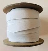 "Conrad Jarvis White Knit Elastic 3/4"" (per yard)"