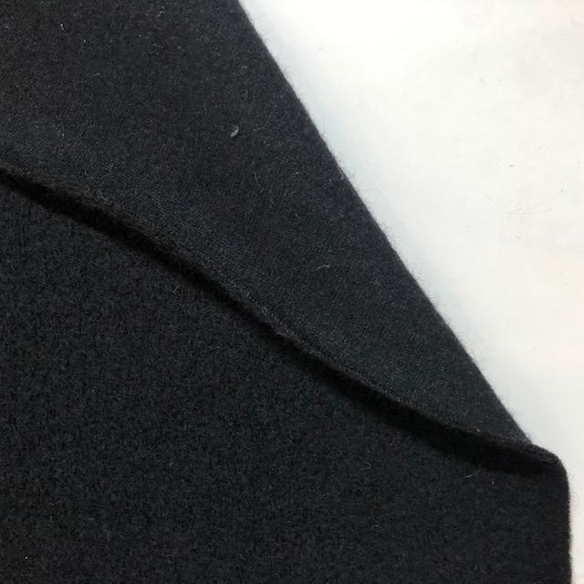 S. Rimmon & Co. Boiled Wool Coating Black