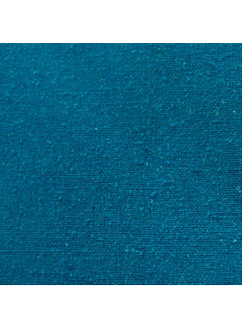 Exotic Silks Raw Silk Noil Teal Blue