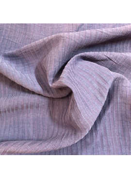 Exotic Silks Ribbed Silk / Linen Skipper Blue