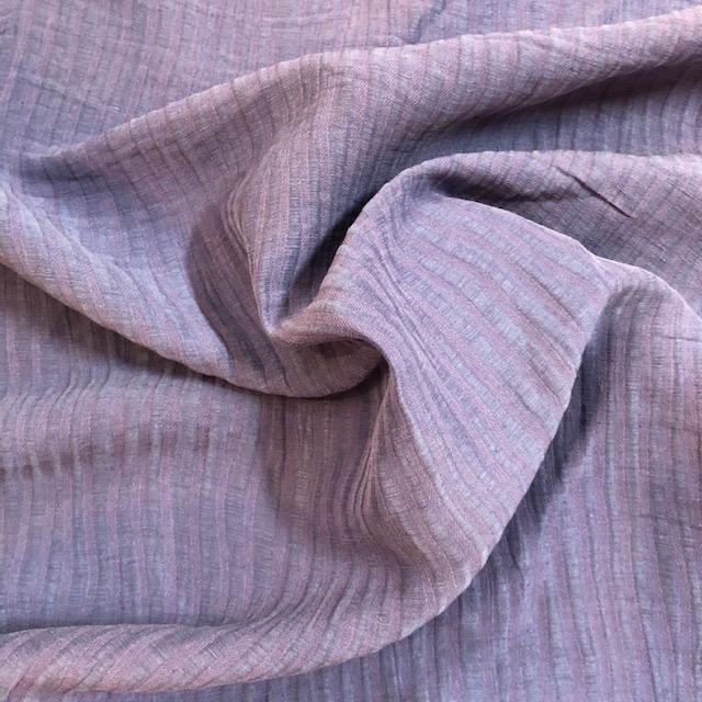Exotic Silks Ribbed Silk / Linen Skipper Blue