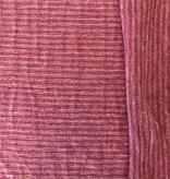 Pickering International Hemp / Organic Cotton Yarn Dyed Striped Jersey Sienna Plum Rose 4.8oz