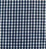 Atlas Grey / Blue Shirting Gingham Small