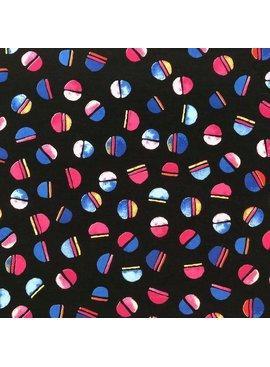 Elliot Berman Multicolor Dot Black