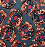 Elliot Berman Indian Paisley Blue Viscose Rayon