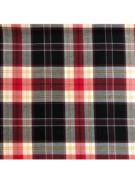 Stylecrest Fabrics Navy / Red Polo Woven Plaid