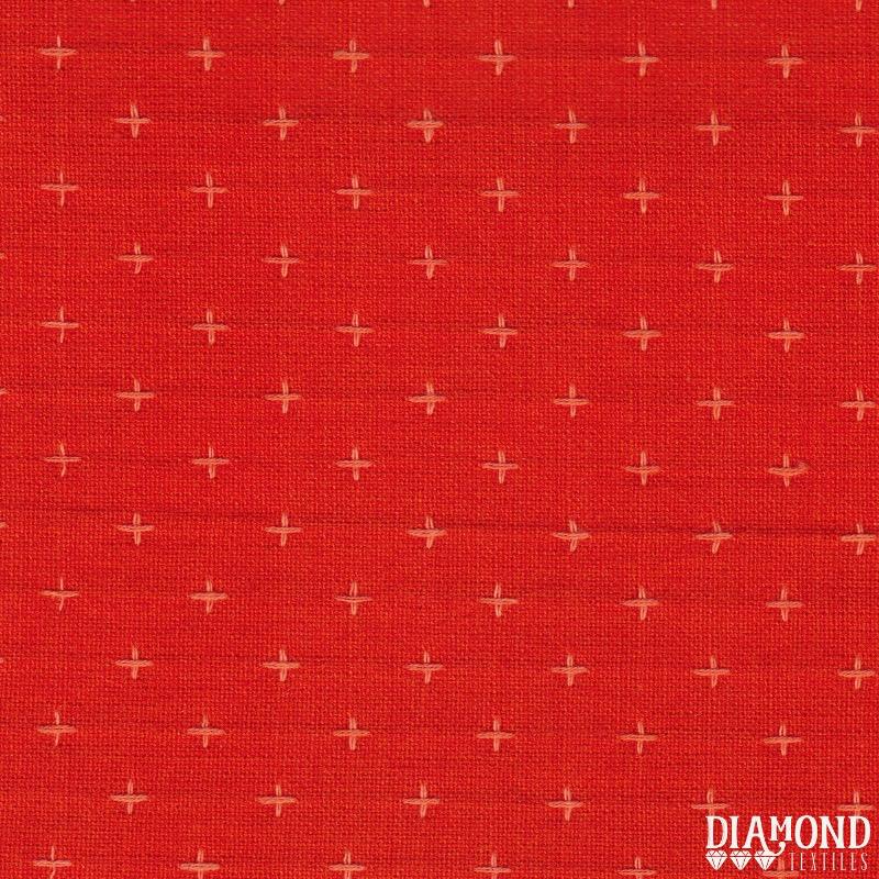 Diamond Textiles Manchester Orange Pluses