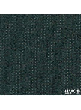 Diamond Textiles Nikko Topstitch Blue Suede