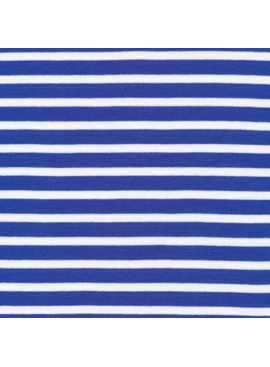 Cloud 9 Cloud 9 Organic Cotton Knit Colorful Stripe Blue