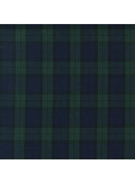 Robert Kaufman Sevenberry Classic Plaid Hunter