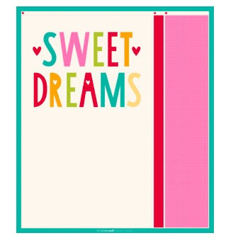 Moda Sweet Dreams Pillow Case Kit