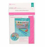 Moda School Supply Zipper Pouch Kit