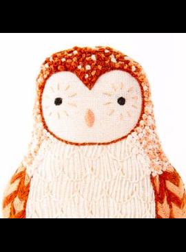 Kiriki Press Kiriki Press Embroidered Doll Kit Barn Owl