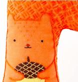Kiriki Press Kiriki Press Embroidered Doll Kit Squirrel