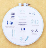 Kiriki Press Kiriki Press Embroidery Stitch Sampler: Beginner