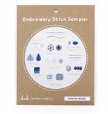 Kiriki Press Kiriki Press Embroidery Stitch Sampler: Intermediate
