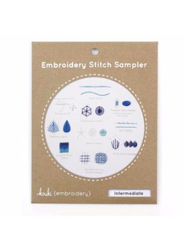 Kiriki Press Kiriki Press Embroidery Stitch Sampler: Intermediate
